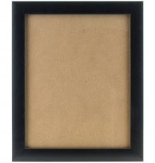Craig Frames Black Picture Frame With Smooth Wrap Finish
