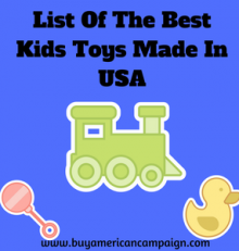 List Of The Best Kids Toys Made In USA