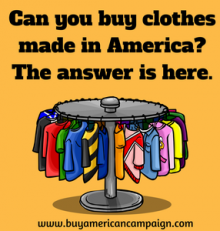 Can You Still Buy Clothes Made In America?