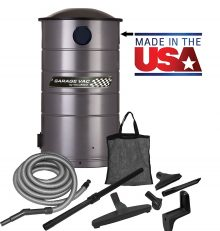 VacuMaid GV30 Wall Mounted Garage Vacuum