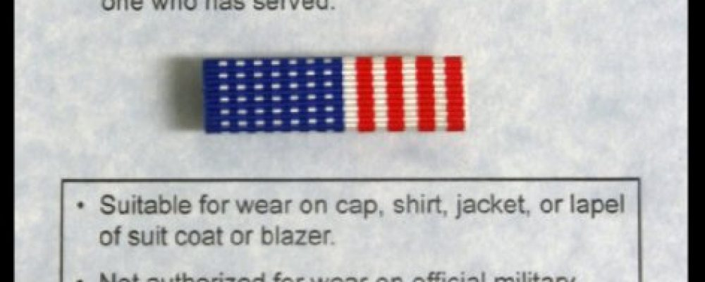The Veteran Lapel Pin To Honor Those Who Have Died For Their Country