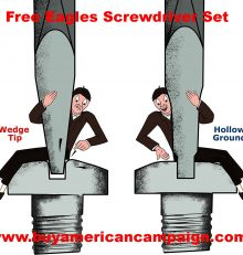 Free Eagles Screwdriver Set