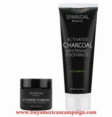 Charcoal Tooth Powder and Charcoal Toothpaste Pack