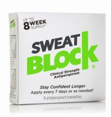 SweatBlock Antiperspirant – Clinical Strength – Reduce Sweat For Up To 7-days