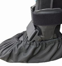MyShoeCovers Fracture Boot Covers – Black